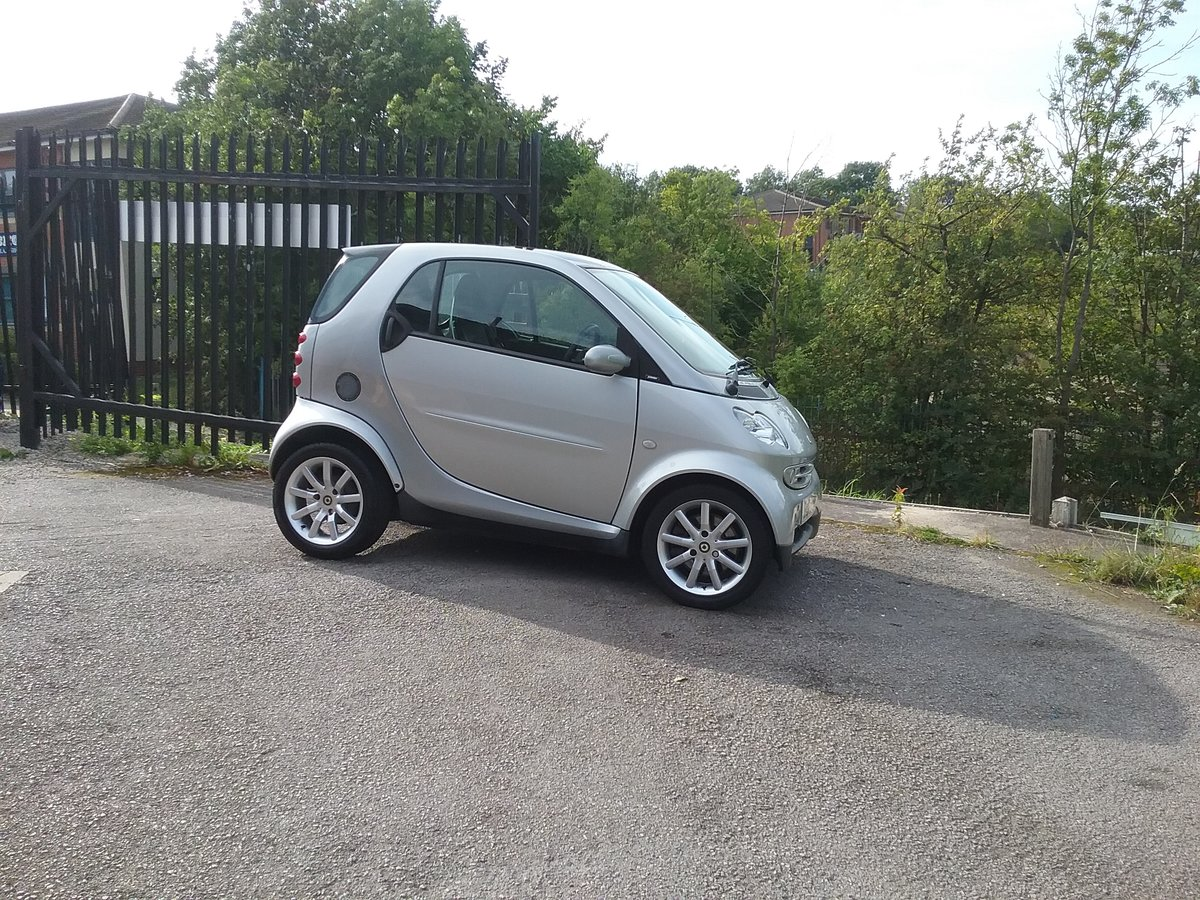 2007 ForTwo Lovely little low mileage City Passion Auto For Sale (picture 6 of 6)