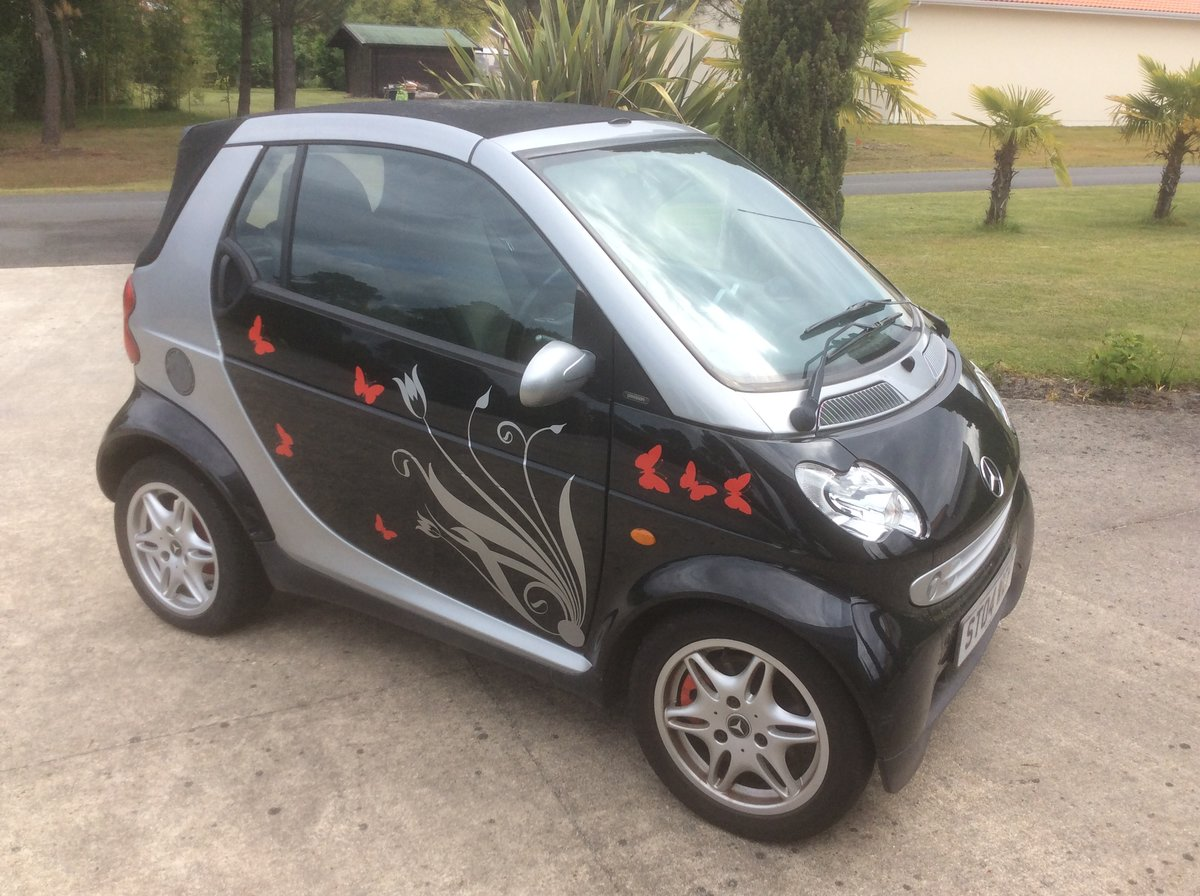2004 Smart Convertible Automatic. For Sale (picture 1 of 3)