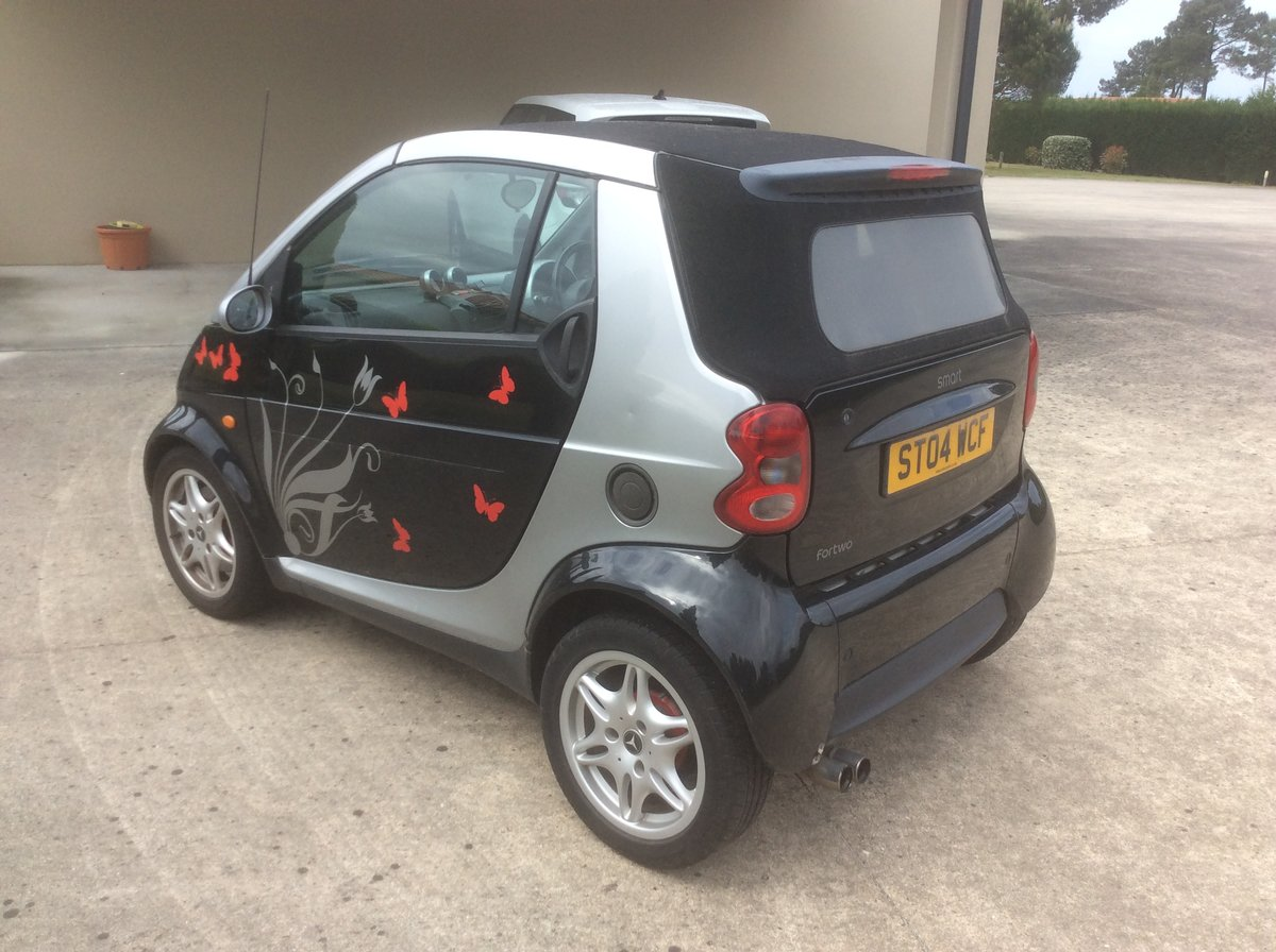 2004 Smart Convertible Automatic. For Sale (picture 2 of 3)
