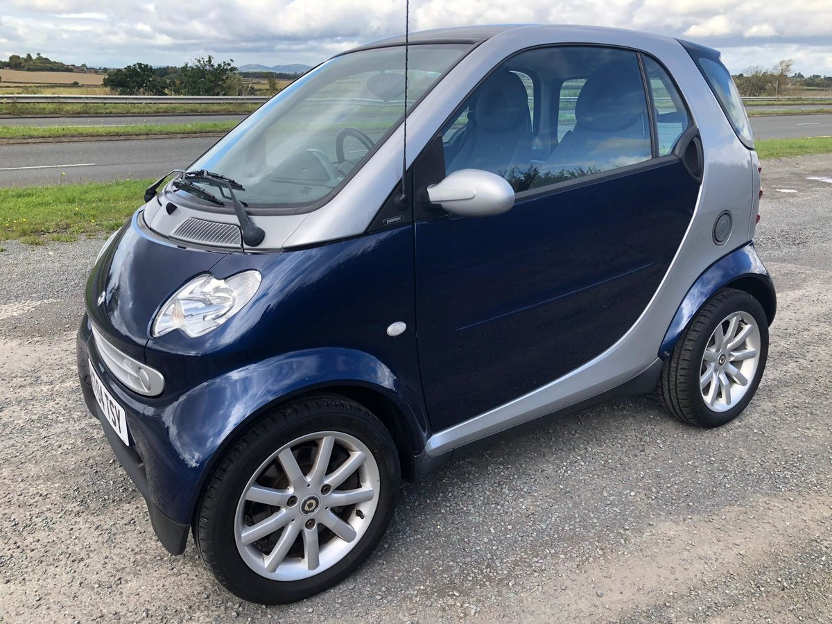 2004 Smart fortwo Passion Full s/h lovely condition 26k mile For Sale (picture 1 of 6)