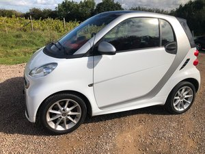 2012 Smart Passion MHD full s.history low mileage White VGC