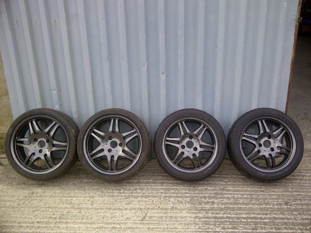 2008 Brabus Monoblock Alloys+Tyres 16/17 For Sale (picture 1 of 6)