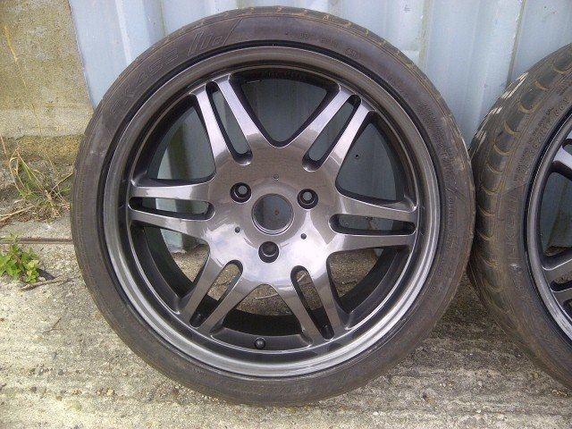 2008 Brabus Monoblock Alloys+Tyres 16/17 For Sale (picture 2 of 6)