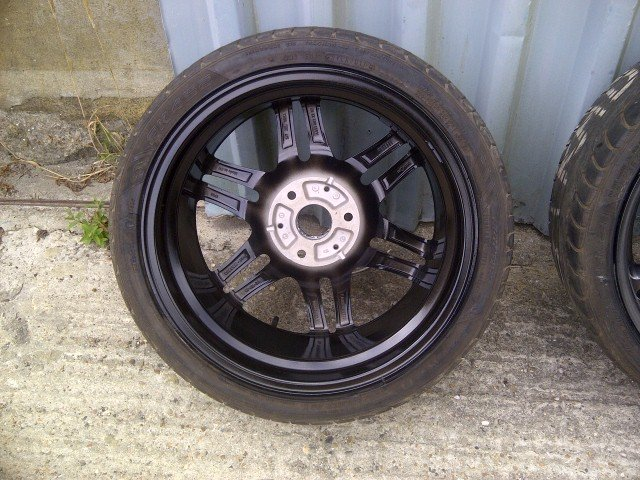2008 Brabus Monoblock Alloys+Tyres 16/17 For Sale (picture 5 of 6)