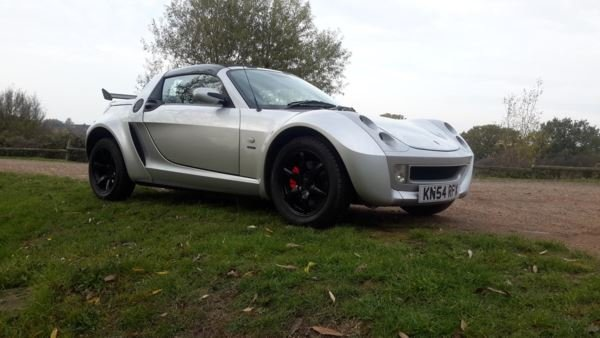 2004 SMART ROADSTER 48000 MILES LIMITED EDITION SPEED SILVER 115  For Sale (picture 1 of 6)