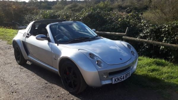 2004 SMART ROADSTER 48000 MILES LIMITED EDITION SPEED SILVER 115  For Sale (picture 4 of 6)