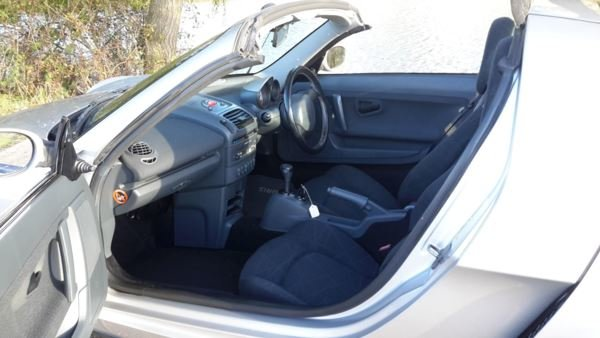 2004 SMART ROADSTER 48000 MILES LIMITED EDITION SPEED SILVER 115  For Sale (picture 5 of 6)