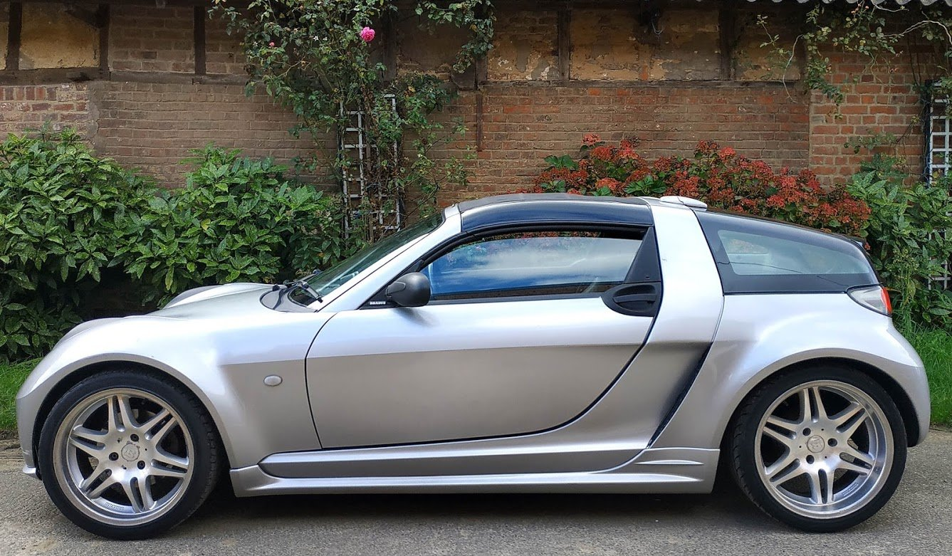 2004 Smart Roadster Brabus Coupe 101hp RHD 64k For Sale (picture 1 of 6)