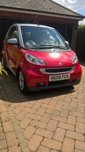 2009 Much loved very low mileage Smart Convertible