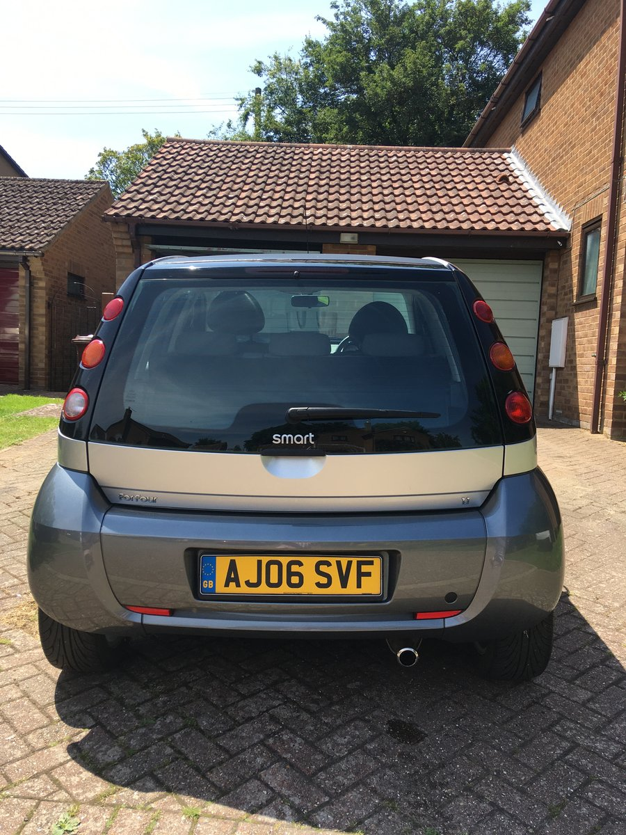 2006 Smart Four Four low miles Excellent Condition For Sale (picture 3 of 6)