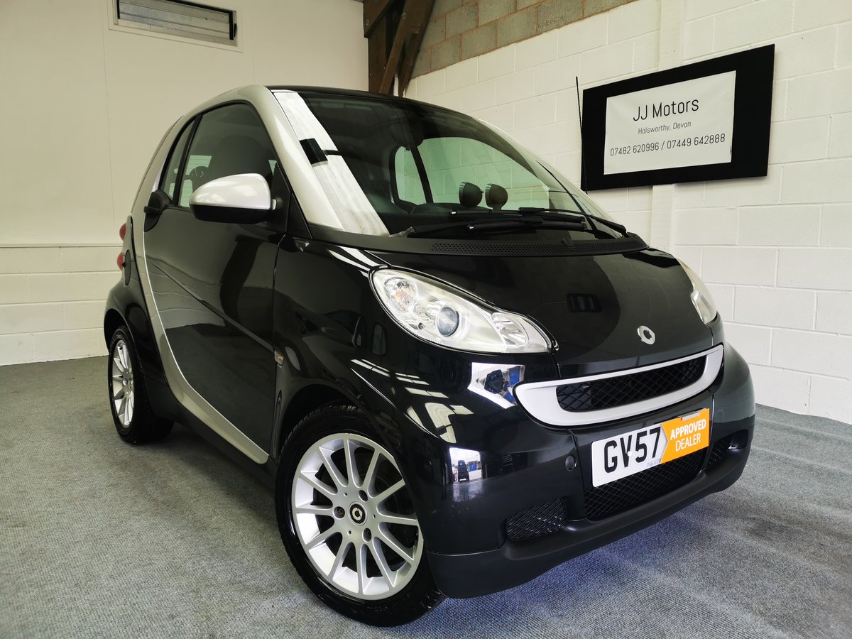2007 Smart Fortwo Coupe 1.0 Passion (84) Turbo *MOT'd 22/06/21* For Sale (picture 1 of 6)