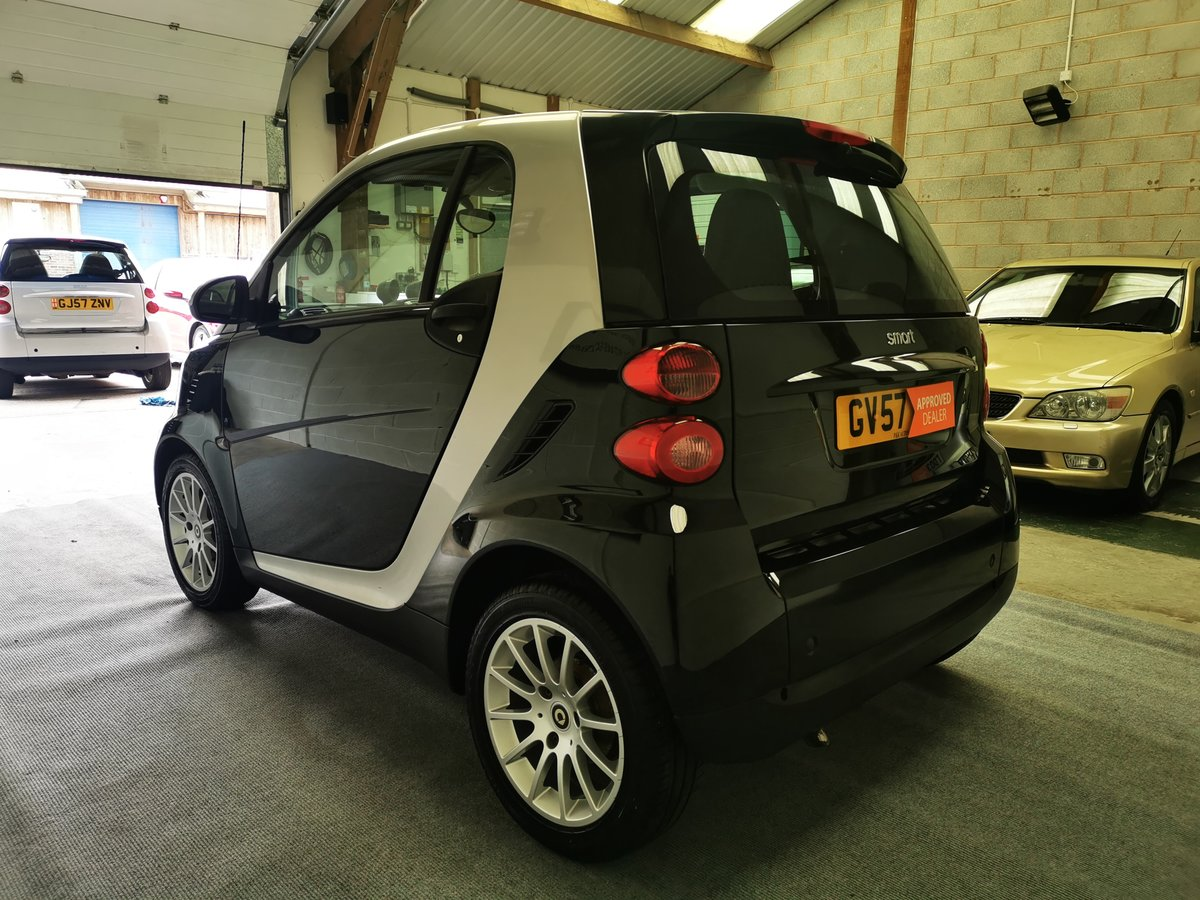 2007 Smart Fortwo Coupe 1.0 Passion (84) Turbo *MOT'd 22/06/21* For Sale (picture 2 of 6)