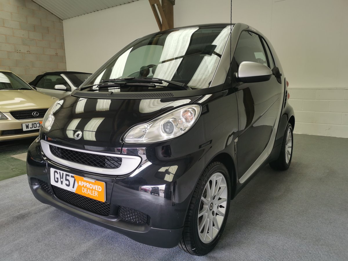 2007 Smart Fortwo Coupe 1.0 Passion (84) Turbo *MOT'd 22/06/21* For Sale (picture 3 of 6)