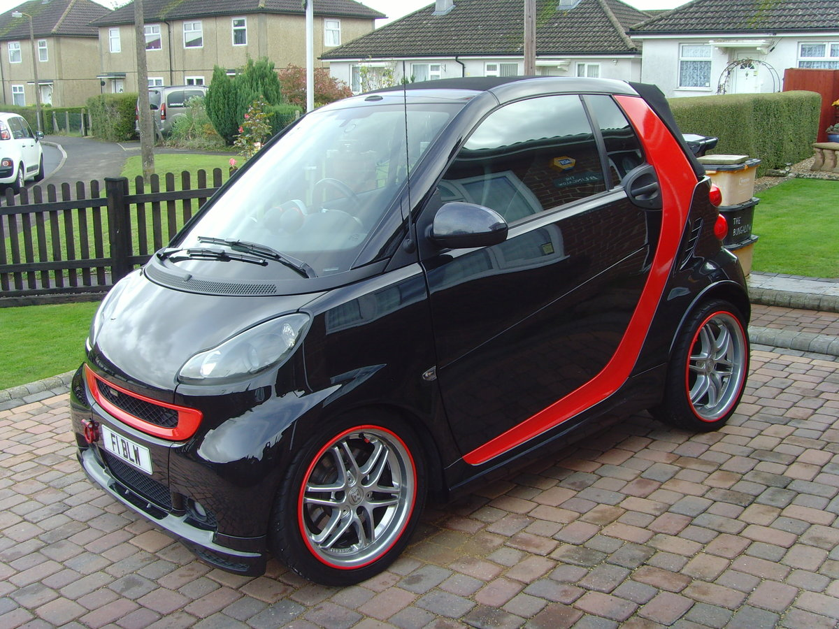 2011 model Smart 451 -  Brabus Convertible - MINT For Sale (picture 2 of 6)