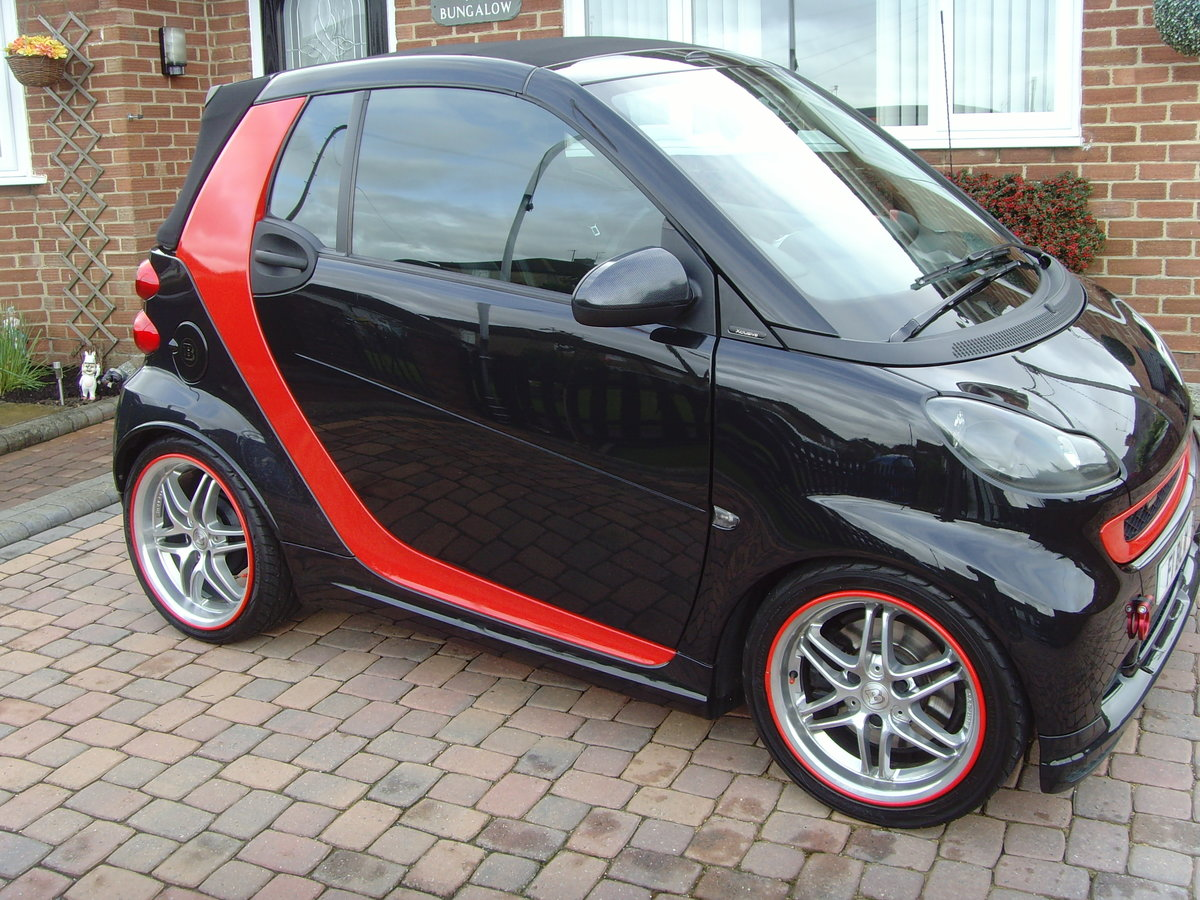 2011 model Smart 451 -  Brabus Convertible - MINT For Sale (picture 3 of 6)