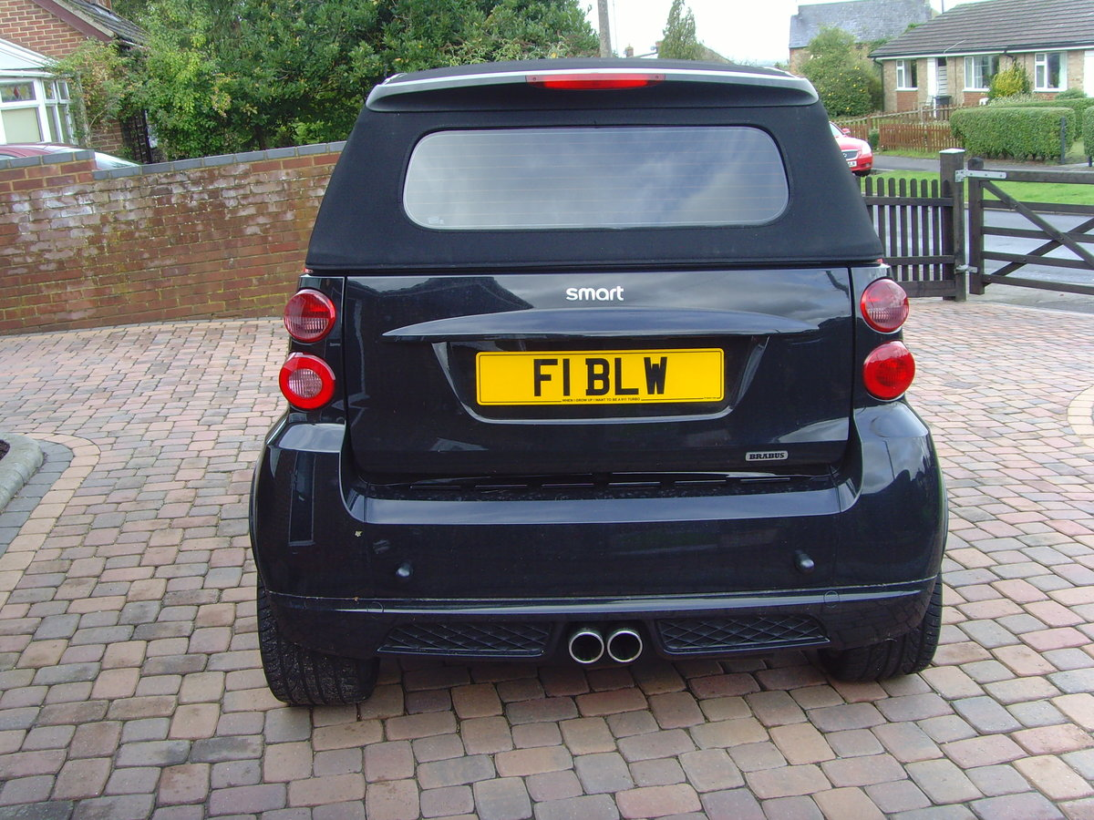 2011 model Smart 451 -  Brabus Convertible - MINT For Sale (picture 4 of 6)