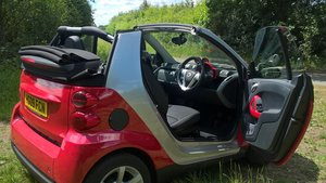 2009 Low mileage Smart Fortwo Pulse Cabriolet
