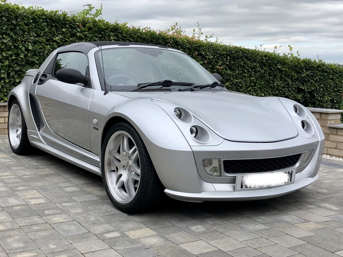 2005 Smart Roadster Brabus Xclusive For Sale (picture 1 of 6)