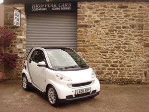 Picture of 2008 08 SMART FORTWO 1.0 PASSION 3DR. AUTO. 27535 MILES.  For Sale