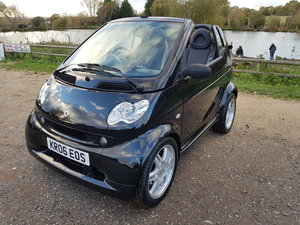 BRABUS SMART FOR TWO CONVERTIBLE 50000  MILES BLACK PX WELCO