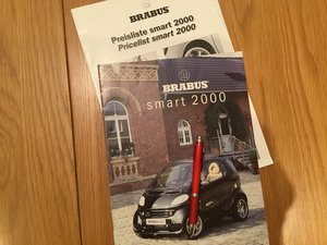 Picture of Smart Brabus 2000 brochure