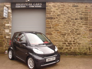 Picture of 2010 60 SMART 1.0 PASSION CABRIO. AUTO. 68768 MILES. £0 RFL. For Sale