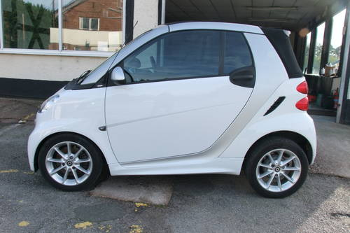 2012 SMART FORTWO CABRIO 1.0 PASSION MHD 2DR AUTOMATIC SOLD (picture 2 of 6)