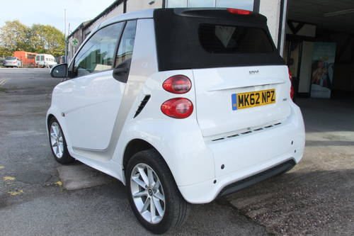 2012 SMART FORTWO CABRIO 1.0 PASSION MHD 2DR AUTOMATIC SOLD (picture 3 of 6)