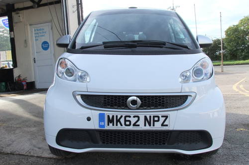2012 SMART FORTWO CABRIO 1.0 PASSION MHD 2DR AUTOMATIC SOLD (picture 4 of 6)
