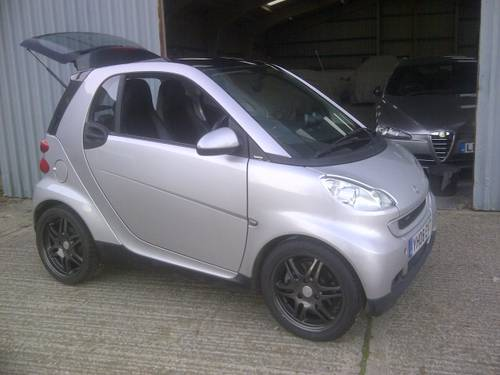 2008 Smart ForTwo 1.0 Turbo Auto Brabus'Look' 22k miles Breaking? SOLD (picture 1 of 6)