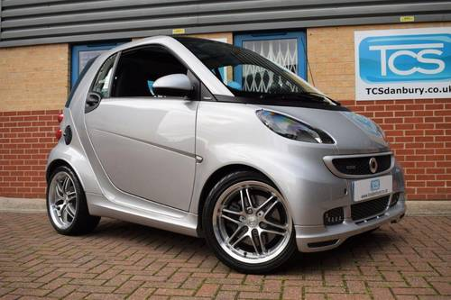 2012 smart forTwo BRABUS Xclusive Coupe 102 Softouch SOLD (picture 1 of 6)
