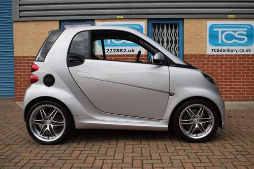 2012 smart forTwo BRABUS Xclusive Coupe 102 Softouch SOLD (picture 3 of 6)