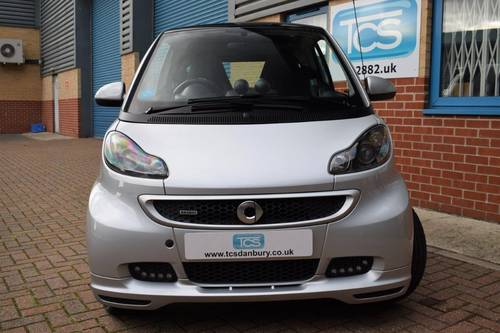 2012 smart forTwo BRABUS Xclusive Coupe 102 Softouch SOLD (picture 4 of 6)