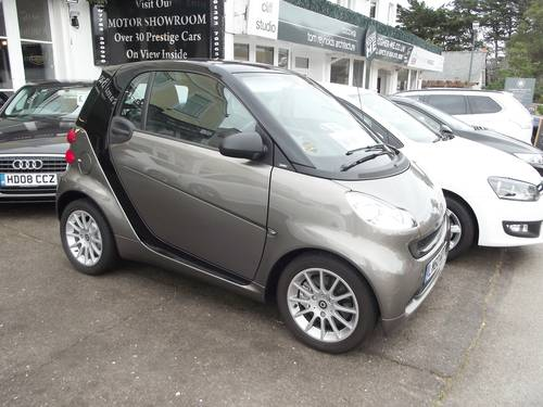 2010 SMART CAR FORTWO PASSION MHD AUTO 3 door SOLD (picture 1 of 6)