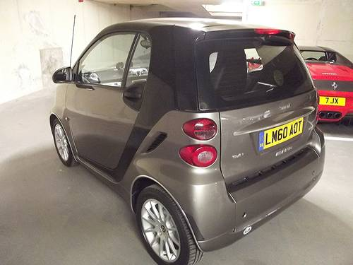 2010 SMART CAR FORTWO PASSION MHD AUTO 3 door SOLD (picture 2 of 6)