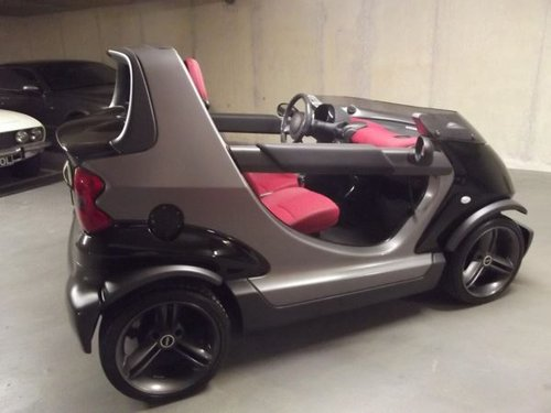 2002 SMART CROSSBLADE ROADSTER NO281 LTD ED UK Supplied SOLD (picture 2 of 5)