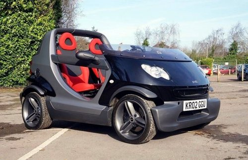 2002 SMART CROSSBLADE ROADSTER NO281 LTD ED UK Supplied SOLD (picture 1 of 5)