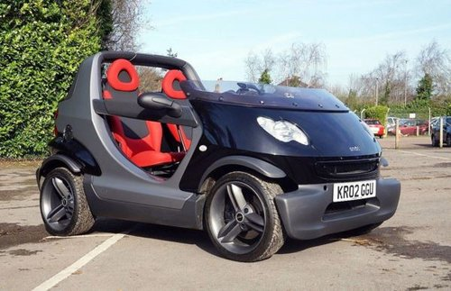 2002 SMART CROSSBLADE ROADSTER NO281 LTD ED UK Supplied SOLD (picture 1 of 6)