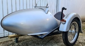 Watsonion Squire Prescott Vintage Replica Sidecar with remot