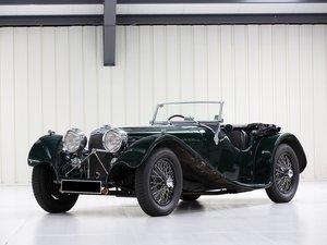 1937 SS 100 Jaguar 3-Litre Roadster  For Sale by Auction
