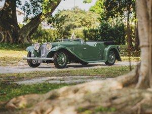 1937 SS Jaguar 2-Litre Tourer