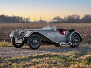 Picture of 1938 SS 100 Jaguar 3-Litre Roadster  For Sale by Auction