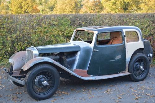 1935 SS II 12 HP FHC Part restored condition & complete. For Sale (picture 1 of 6)