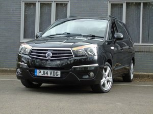 2014 Ssangyong Turismo 2.0 e-XDi S HUGE 7 SEAT PEOPLE CARRIER. SOLD