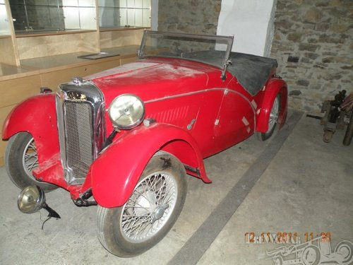 1933 Standard Avon special for sale SOLD (picture 1 of 5)