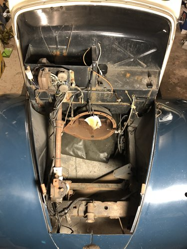 1937 Standard Flying 9 Partial Restoration For Sale (picture 1 of 6)