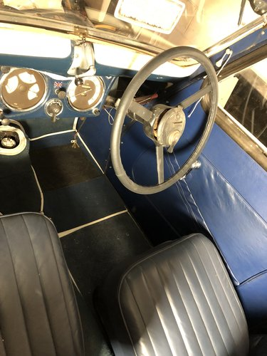 1937 Standard Flying 9 Partial Restoration For Sale (picture 6 of 6)