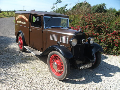 1931 Only remaining Standard Big Nine Van For Sale (picture 1 of 6)