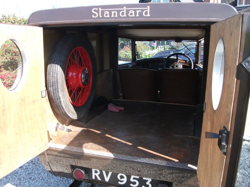 1931 Only remaining Standard Big Nine Van For Sale (picture 3 of 6)