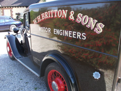 1931 Only remaining Standard Big Nine Van For Sale (picture 6 of 6)